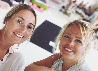 Vicky og Stine