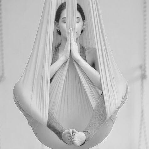 Aerial yoga begynder